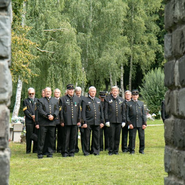Pietny akt kladenia vencov otvoril Regionálne oslavy Dňa baníkov 2020
