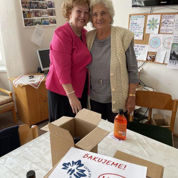 Fórum pre pomoc starším - pomoc spoločnosti Henkel