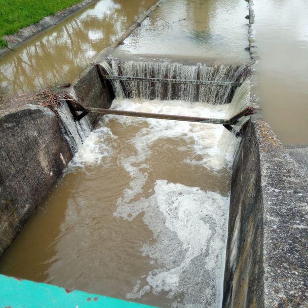 Kontrola tokov v Handlovej po výdatných zrážkach z 18.5.2021