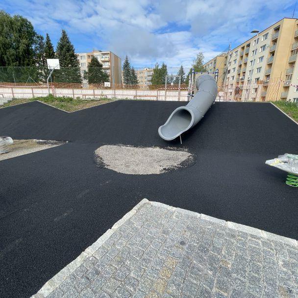 Postup prác revitalizácie vnútrobloku Morovnianska cesta