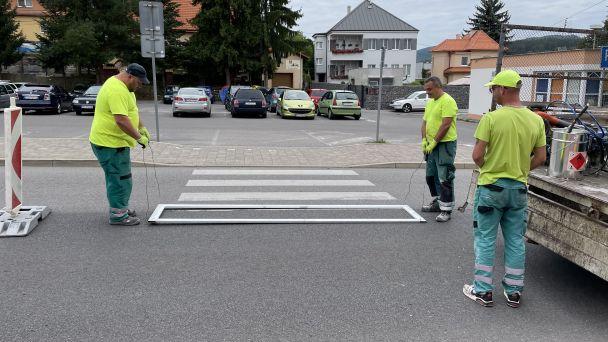 Priechody pre chodcov budú bezpečnejšie